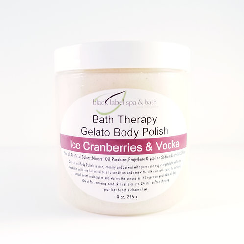 Gelato Body Polish-Iced Cranberries & Vodka