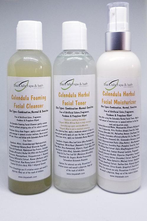 Calendula Herbal Skin Care System