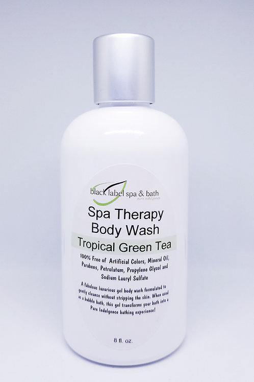Body Wash-Tropical Green Tea