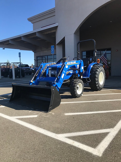 New Holland Workmaster 25 / 200LC Tractor Loader