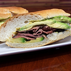 Pastrami Avocado Sandwich