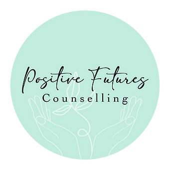 Positive Futures counselling logo png fi
