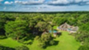 Lilayi Game Farm aerial