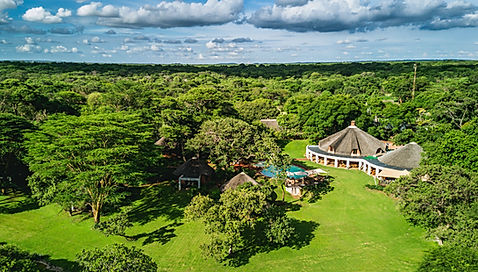 Lilayi Game Farm aerial