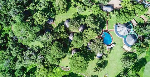 Lilayi Lodge bird's-eye view
