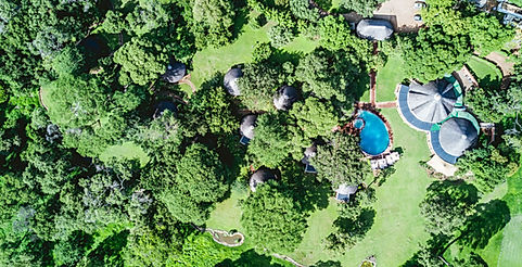 Lilayi Lodge bird's-eye view