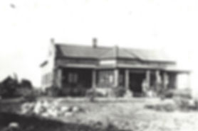 P.T. Miller at Lilayi Main Farm House - 1925