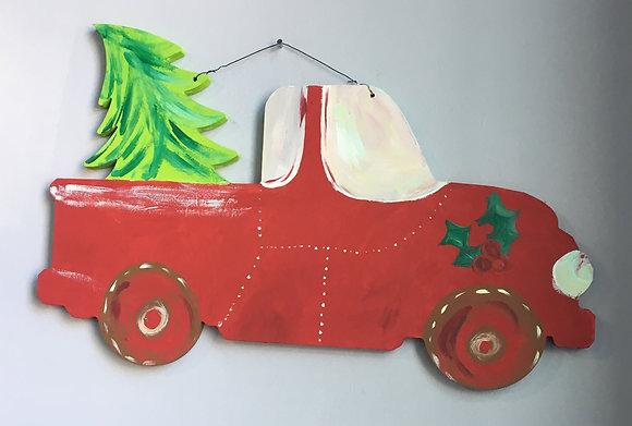 Christmas Tree Truck