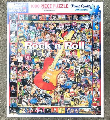 Rock 'n' Roll - 1000 Piece Jigsaw Puzzle