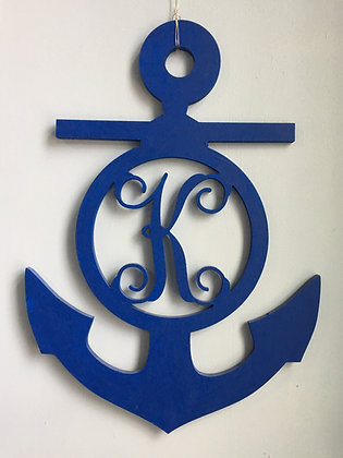 Anchor Single Initial Cut Out