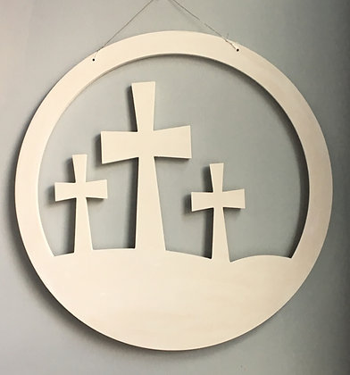 Circular Cross Cut Out