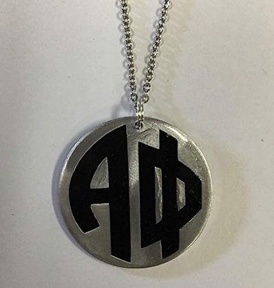 Alpha Phi - Monogram Necklace on 24 inch