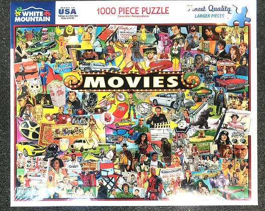 The Movies - 1000 Piece Jigsaw Puzzle