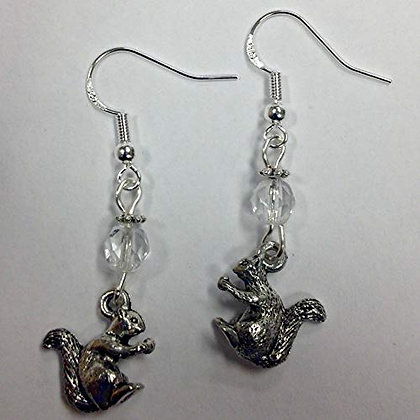 Alpha Gamma Delta - Squirrel/Mascot Earrings