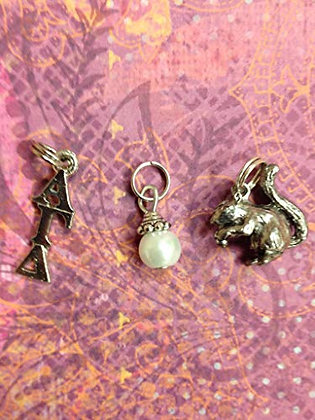 Alpha Gamma Delta - Essential Trio Charm Set