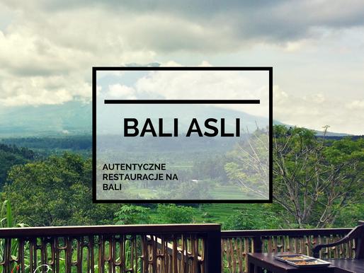 Bali Asli – Restauracja i Szkoła Gotowania | Wschodnia Bali