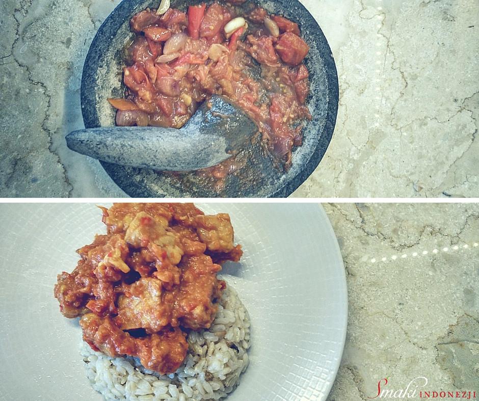 Tempeh Sambal Tomat Goreng, Smażone Tempeh w Sosie Pomidorowym, Smaki Indonezji, Sambal Tomat Goreng