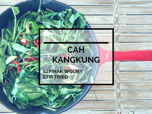 Cah Kangkung – Szpinak Wodny Stir Fried