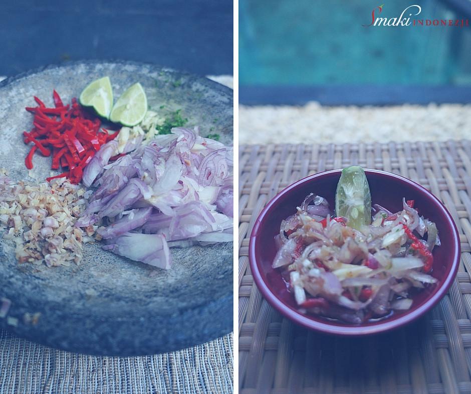 Sambal Matah - Balijski Relish z Trawą Cytrynową