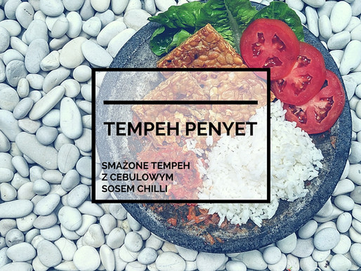 Tempeh Penyet – Smażone Tempeh z Sosem Chilli