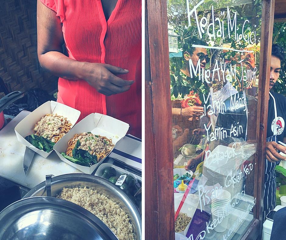 Ubud Food Festival 2016, Smaki Indonezji - Mie Ayam