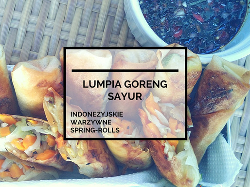 Lumpia Goreng Sayur – Indonezyjskie Warzywne Spring-Rolls