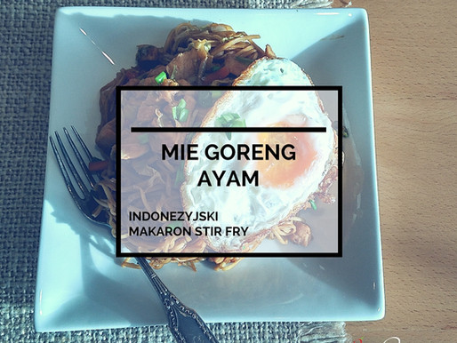 Mie Goreng Ayam – Indonezyjski Smażony Makaron