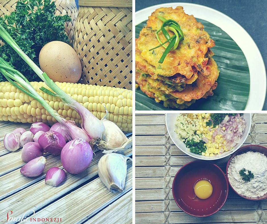 Perkedel Jagung - Indonezyjskie Placuszki Kukurydziane - Przepis