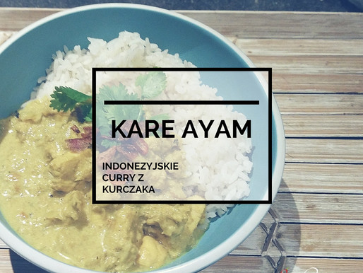 Kare Ayam – Indonezyjskie Curry Z Kurczaka