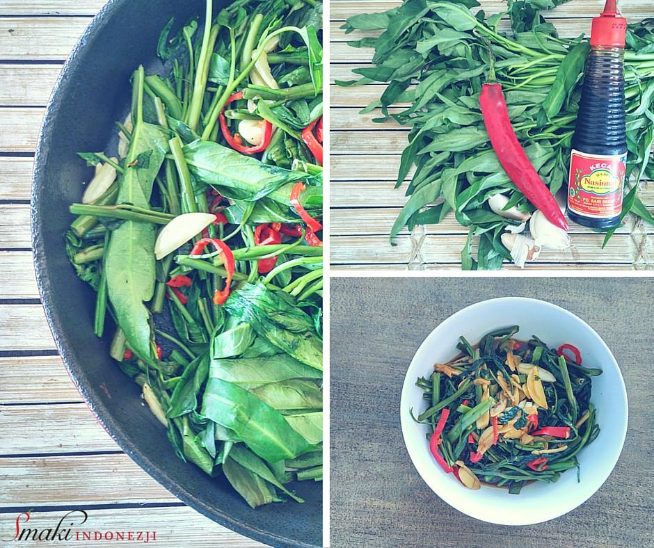 Cah-Kangkung-Szpinak-Wodny-Stir-Fried-Kuchnia-Indonezyjska-Przepisy-Smaki-Indonezji