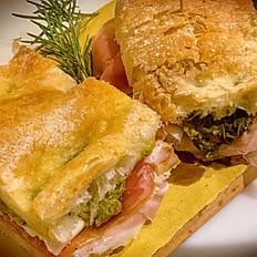 Sandwich con Prosciutto Crudo e Pecorino