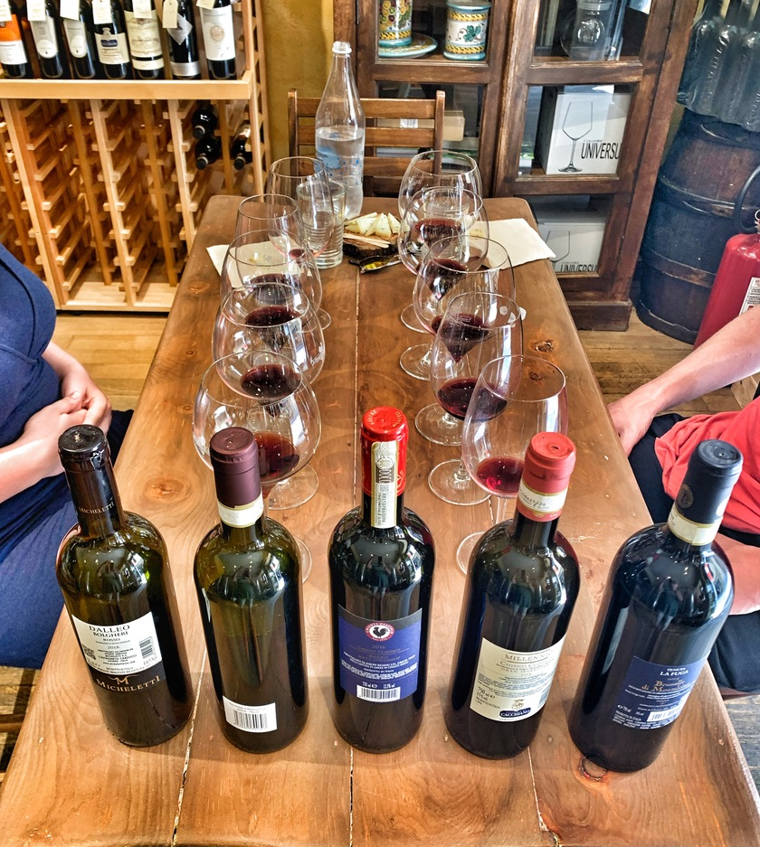 WINE TASTING TOSCANA TOP WINES