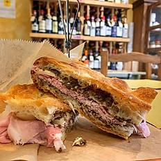 Sandwich con Prosciutto Cotto e Pecorino