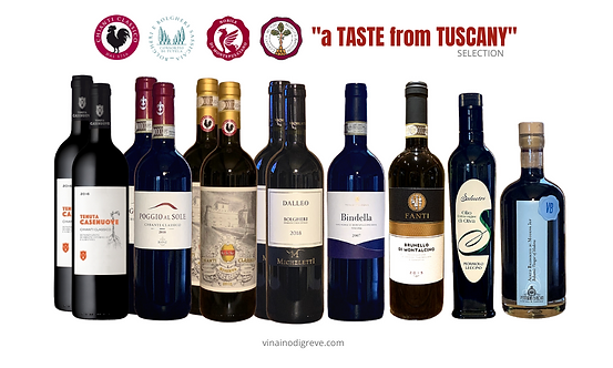 a TASTE from TUSCANY selection - 12 bottles