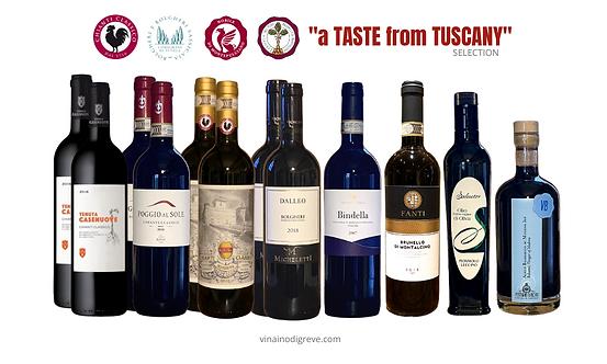 """a TASTE from TUSCANY"" selection - 12 bottiglie"
