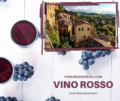Vino Rosso Box 5 lt ( zona prod.Montepulciano)