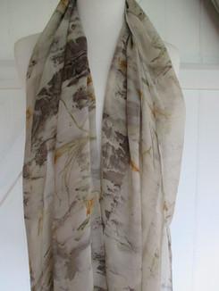 Georgette silk