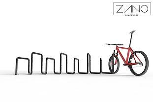 ZANO āra mēbeles. Velosipēdu statīvi. Pilsēta velosipēdiem. Velosipēdu zonas. MOderns pilsētas dizains. Labiekārtošanas elementi. Mazās arhitektūras formas. Pilsētplānošana. Ielu mēbeles