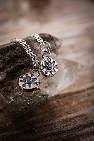Swarovski medaillon necklace