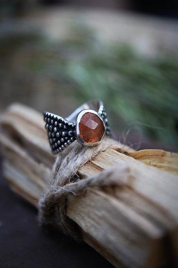 Size 6½ • Beaded Goddess Ring