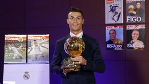"""""""O Real Madrid não deixou Cristiano Ronaldo ganhar a Bola de Ouro"""""""