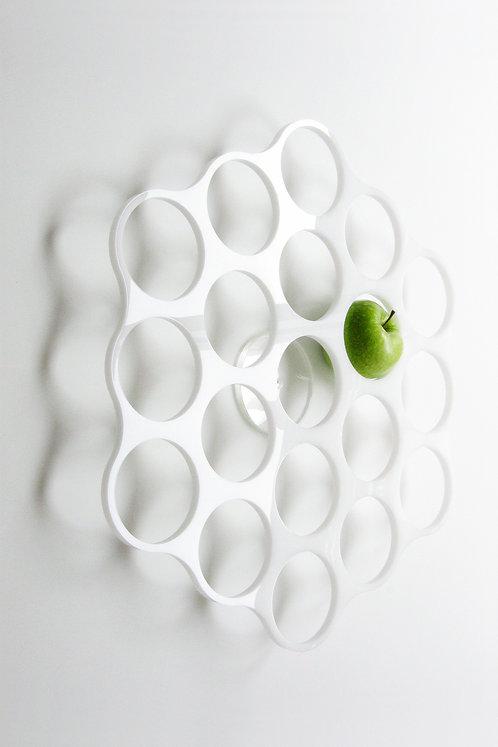 Oyon l Mural Fruit Holder l White