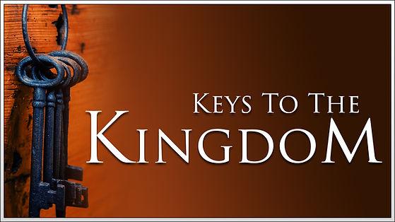 Keys to the Kingdom V5 - Video Screen -