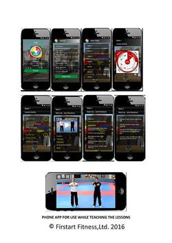 Phone App Firstart Fitness
