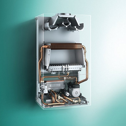 Настенный газовый двухконтурный котел Vaillant atmoTEC plus VUW 280/5-5 (28 кВт)