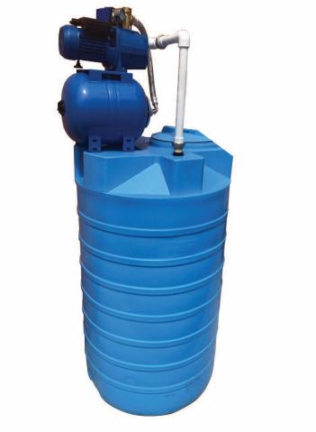 Бак для воды АКВАТЕК ATV500 с насосной станцией