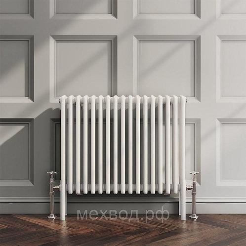 Стальной трубчатый радиатор Zehnder Charleston 3057/06 секц., RAL9016,бок. подкл
