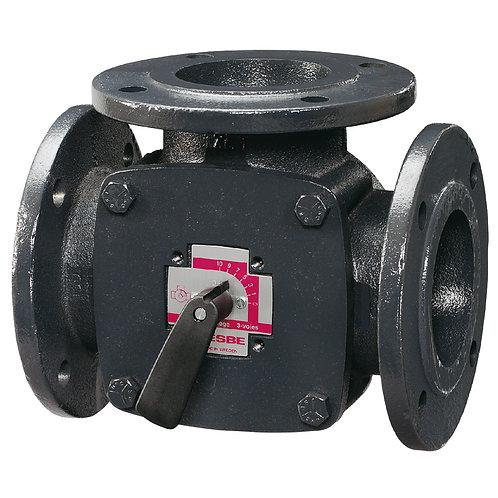 Клапан трехходовой регулирующий фланцевый Esbe 3F80, KVS 150