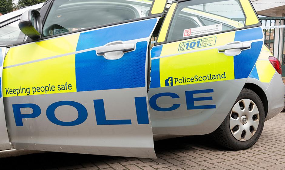 Police Scotland vehicle