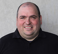 Photograph of Iain Glover, Electrical services manager of Summit Facilities Services